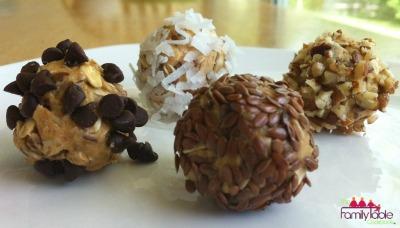 PB cookie balls