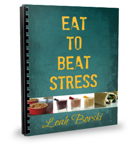 Eat to Beat Stress binder cover