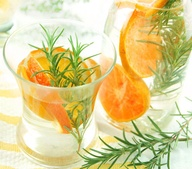 Citrus and Herb spa water