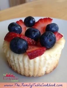 Healthified Cheesecake Cupcakes