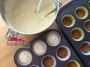 Healthified cheesecake - prep