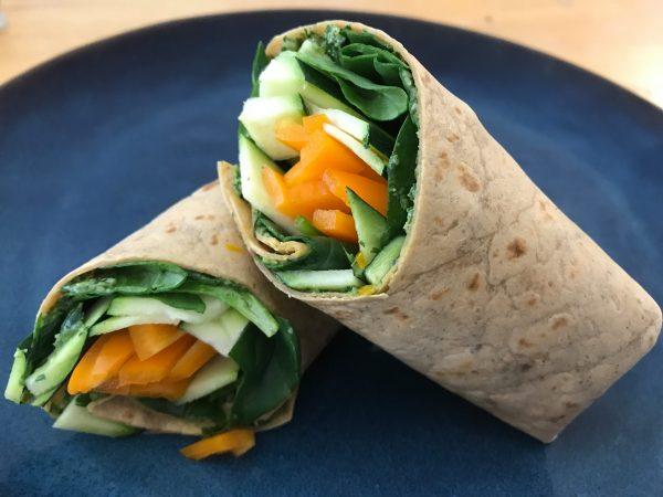 #wraps #pesto #raw #spinach #spinachpesto #easywrapsrecipes #spinach