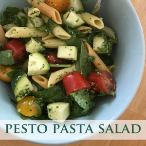 #pesto #pastasalad #raw #healthyeating #healthyrecipes #summerrecipes #cleaneating #simplerecipes #quickrecipes