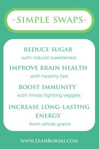 #healthyswaps #simpleswaps #easyhealthymeals #easyhealthysnacks #fasthealthymeals #healthifymyrecipes